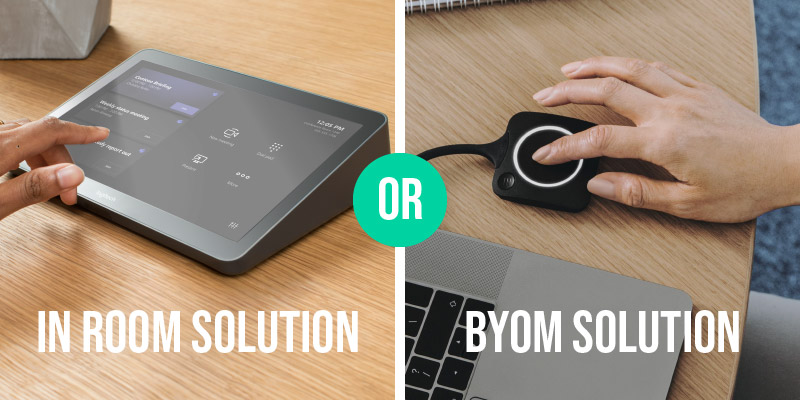 BYOM or In Room Meeting Control