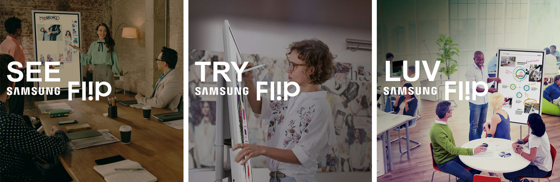 Try, Win, Luv Samsung Fl!p