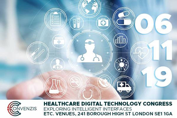 MEDICAL CONCEPT IMAGE PROMOTING CONVENZIS HEALTHCARE DIGITAL TECHNOLOGY CONGRESS
