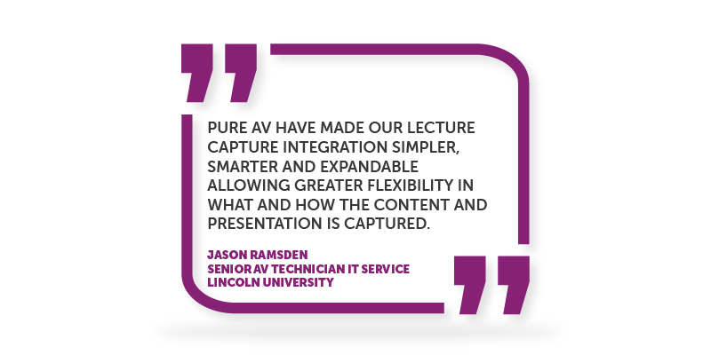 Lecture Capture Testimonial