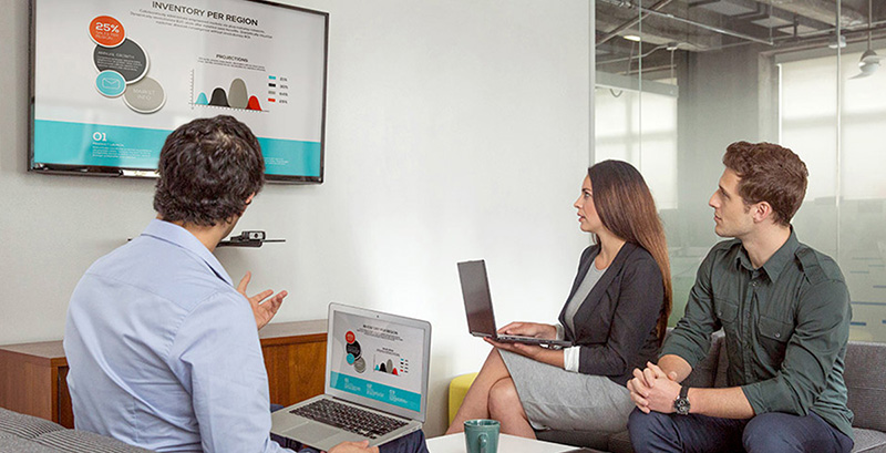 AV solutions for huddle spaces
