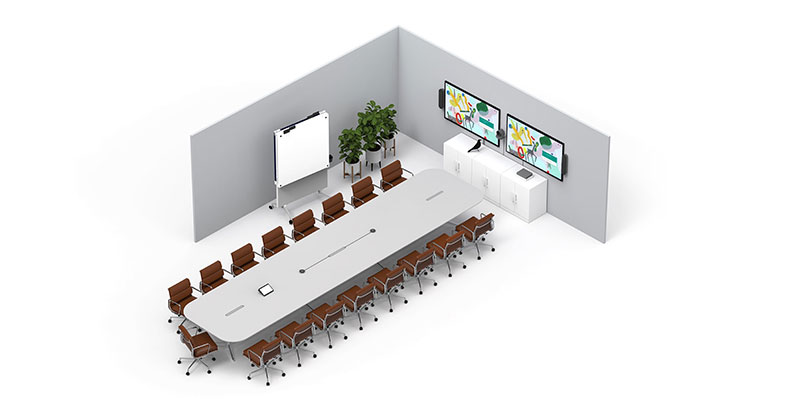Logitech meeting room solution for boardrooms