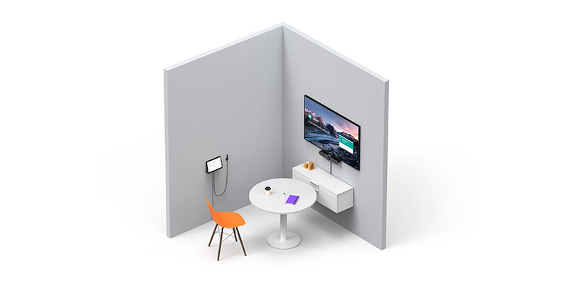 Logitech meeting room solutions for pods and focus rooms