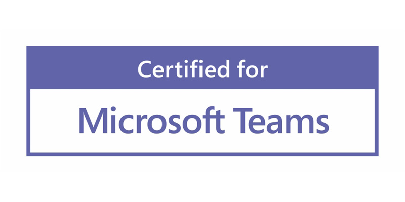 Peripherals certified for Microsoft Teams