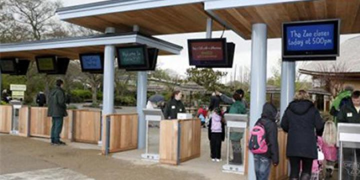 Chester Zoo Visitor Flow System